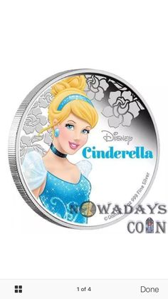 Coin Collecting, Cinderella, Disney Characters, Fictional Characters, Disney Princess, Collection, Art, Kunst, Fantasy Characters