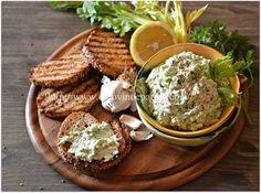 AGLIATA PIEMONTESE   Ricotta & garlic spread #dip #appetizer #italian
