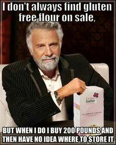 Gluten free humor