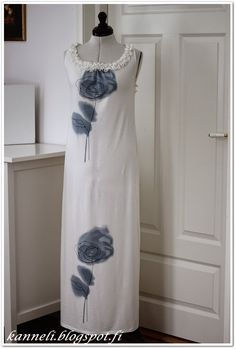 The beautiful dress