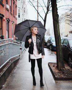 Gloomy windy & rainy in Brooklyn