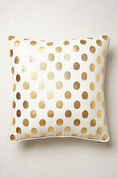 Anthropologie Luminous Dots Pillow