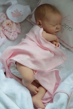 MARIAN ROSS Reborn Baby Girl Doll SERENITY LAURA LEE EAGLES! Sold Out