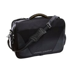 PTH® Victory Coach's Briefcase Bags by Under Armour One Size Fits All Black by Under Armour. $99.99. Messenger-style laptop bag and briefcase constructed specifically for coaches who are on top of their game. Highest quality foam handle and shoulder strap built for comfort. Designated water bottle pocket to stay hydrated and prevent spills. Zippered valuables pocket to secure your stuff. Laptop sleeve for protection. Bottle opener D-ring built in, because you never know when yo...