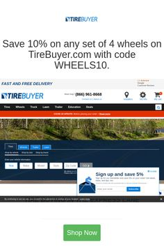Best deals and coupons for TireBuyer Buy Tires, Discount Tires, Discount Shopping, On Set, Coupon Codes, Coupons, Coding, Coupon, Programming