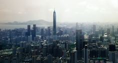 Ping An Finance Centre - Shenzhen China - 599 m - 115 floors - 2016
