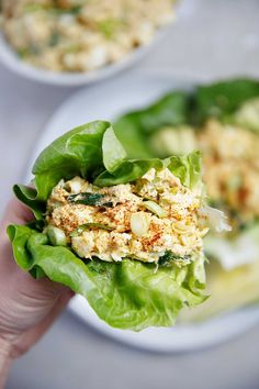 Loaded Egg Salad with Tuna | Lexi's Clean Kitchen