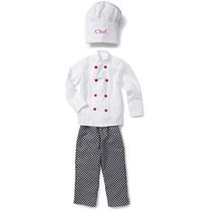 White Chef/'s Trousers Fancy Dress Cooking Kitchen Children/'s Black Age 5-12