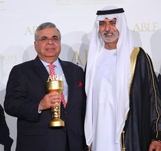 Ashok #Hinduja Felicitated With ABLF GLOBAL ASIAN AWARD at the UAE Government Backed Asian Business Leadership Forum