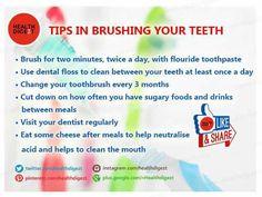 Tips in Brushing Your Teeth