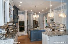 The Jasper Hill House Plan - Kitchen