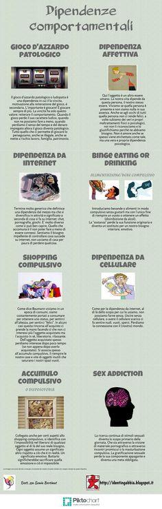 #dipendenzecomportamentali #infografica