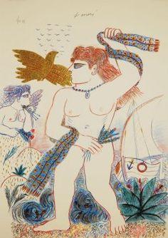 Fassianos Detail Art, Fine Art Prints, Paris, Poster, Painting, Greece, Pencil, Illustrations, Paint