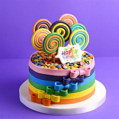Beyaz Fırın - kutlama pastalari - doğum günü pastalari - çocuk - 13 lolipop