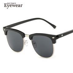 BOUTIQUE Men Sunglasses Women Semi-Rimless Brand Designer Fashion gafas de sol sun glasses oculos de sol Like if you are Excited! #shop #beauty #Woman's fashion #Products #Classes