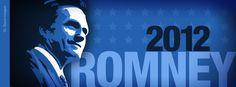 Romney Facebook Timeline by GL Stock Images