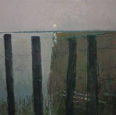 Colin Orchard - Suffolk x 76 cm Landscape Art, Landscape Paintings, Surrealism Painting, Seascape Paintings, Types Of Art, Art Music, Contemporary Art, Art Gallery, Fine Art