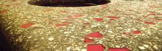 how to add recycled glass aggregates to decorative concrete diy