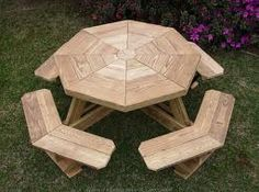 diy octagonal pinic table guide by makeapinictable.com