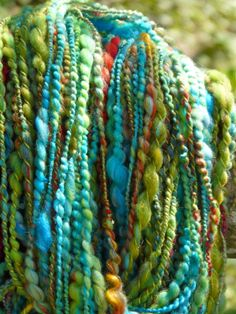 Art Yarn gesponnen von Kikithings mit Merinofasern