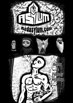 Red Asylum Flyer