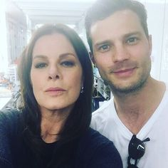 Jamie Dornan Life: Two New Pictures of Jamie with Marcia Gay Harden a...