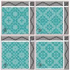 Image result for 4 shaft weaving patterns