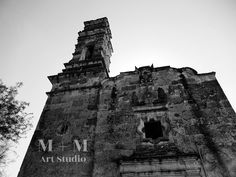 A personal favorite from my Etsy shop https://www.etsy.com/listing/509579936/church-mexico-black-and-white
