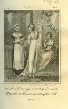 Healthful Dipping by F Egington. From 'The New Bath Guide' by Anstey, 1807 | Flickr - Photo Sharing!