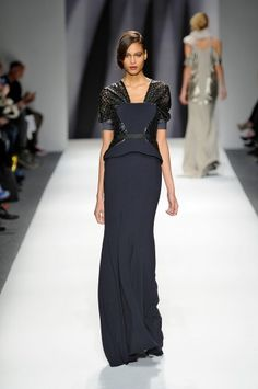 Bibhu Mohapatra-never heard of this designer before but I love this-the texture and color is lovely.