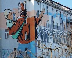 Appi88: Hauswand in Berlin