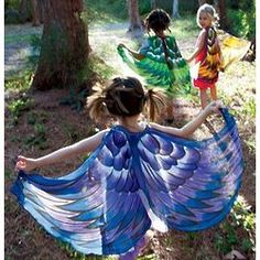 Fanciful Bird Wings Kid's Costume- my friends little girl would love this