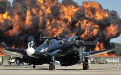 Chance Vought F4U Corsair via Aero-Pictures
