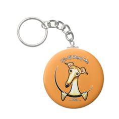 Fawn Greyhound IAAM Keychains
