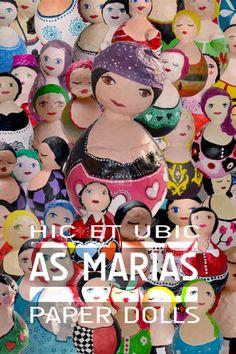 As Marias trabalho de Claudia Oliveira e Paulo Carvalho