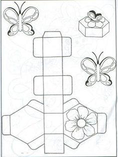 moldes de caixinhas para lembrancinhas 4