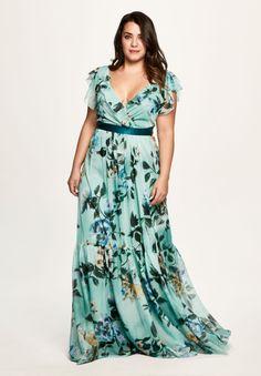 Curvy Fashion, Look Fashion, Plus Size Fashion, Modest Outfits, Casual Dresses, Fashion Dresses, Plus Size Long Dresses, Plus Size Outfits, Beautiful Maxi Dresses