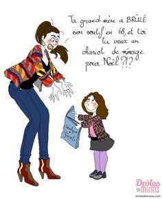 féministe.. // Illustration Marie Crayon pour DROLES DE MUMS                                                     …                                                                                                                                                                                 Plus