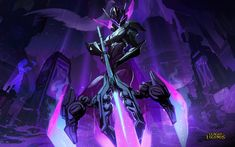Vayne, league of legends, warrior wallpaper