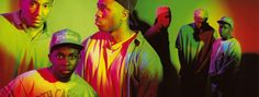 A Tribe Called Quest - inside flap panoramic
