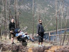 adaptive hiking with TrailRider