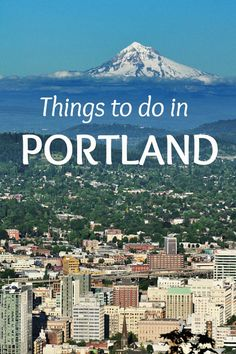 Things To Do In Portland, Oregon - Sunday Spotlight