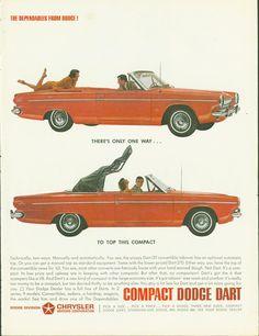 63 Dodge Dart Convertible Page LIFE January 18 1963