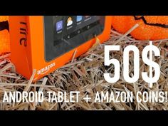 $50 Android Tablet + Amazon Coins = Awesome! (1000$ Coins + TABLET Giveaway!) - YouTube