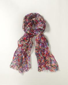 Shower of flowers scarf IN MULTI - Coldwater Creek