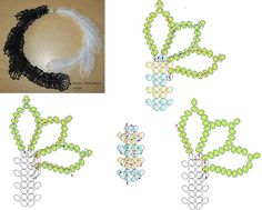Best Seed Bead Jewelry 2017 simple bracelet link is broken but this schema says it all. Beaded Necklace Patterns, Jewelry Patterns, Beading Patterns, Seed Bead Jewelry, Jewelry Making Beads, Beaded Jewelry, Fall Jewelry, Friendship Bracelets With Beads, Woven Bracelets