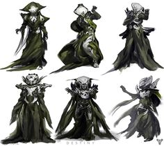 Hive Character Concepts | Video Games Artwork