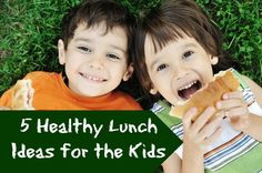 5 Healthy Lunch Ideas for the Kids
