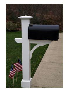 New Ideas For Diy House Numbers Ideas Mailbox Post Landscape Design, Garden Design, House Design, Outdoor Lamp Posts, Outdoor Decor, Cedar Mailbox Post, Mailbox Makeover, Mailbox Landscaping, Mulch Landscaping