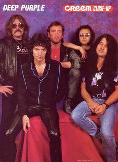 Deep Purple - Creem Magazine, 1980s